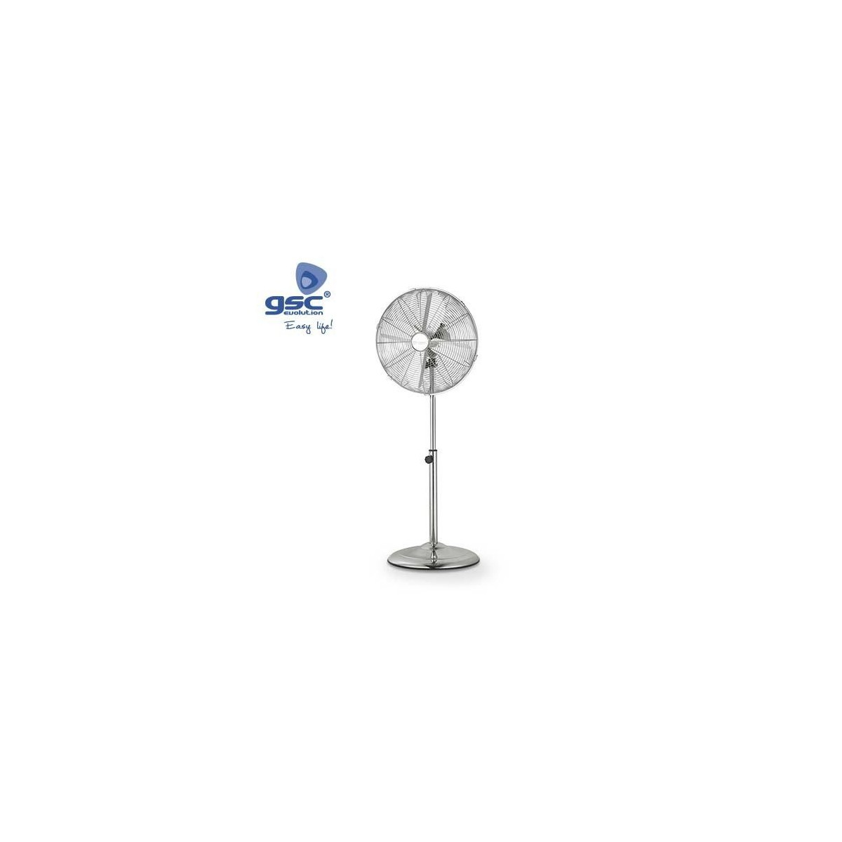 Ventilador Metalico de Pie 70W 3 Velocidades GSC